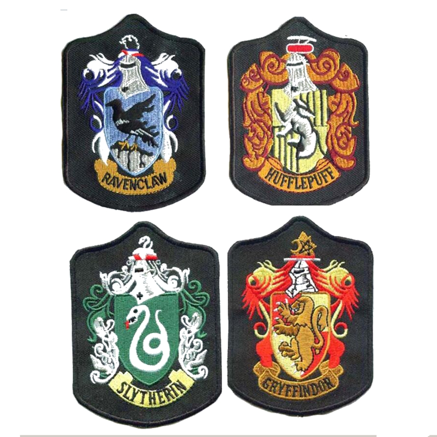 Hufflepuff Harry Potter School Badge Crest Patch Embroidered Tv