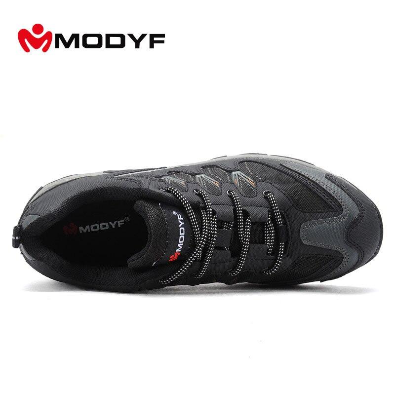 Calzado De perforación Resistente Impacto Modyf Acero Deporte Protección Black Trabajo Zapatos Al Grey Reflectante Puntera Botas Anti Seguridad Aire Libre Wpfp1ZnTcw