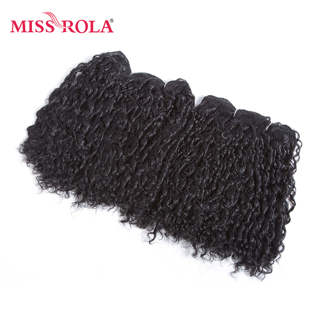 Miss Rola Synthetic Short Curly Hair Weave 75inch 100g Kanekalon