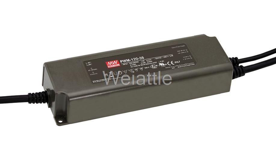 MEAN WELL original PWM-120-36 36V 3.4A meanwell PWM-120 36V 122.4W Single Output LED Power SupplyMEAN WELL original PWM-120-36 36V 3.4A meanwell PWM-120 36V 122.4W Single Output LED Power Supply