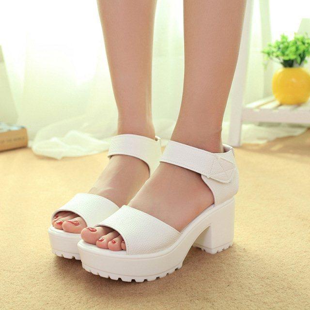 72c8e220fdd new summer women fashion platform shoes Korean style sandals high-heeled  casual sandal woman