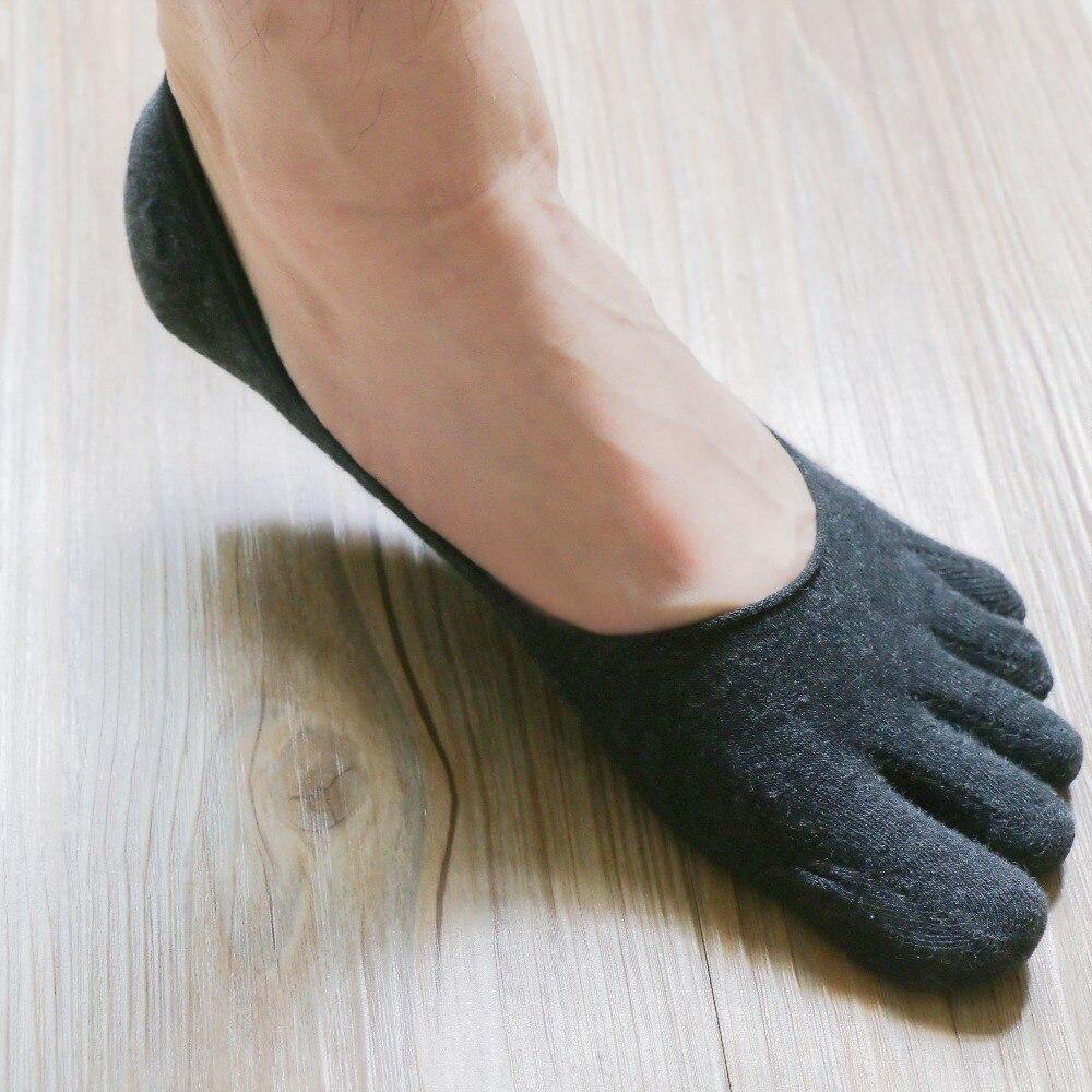 1 Paar Mode Baumwolle Männer Fünf Finger Socken Kappe Socken Unsichtbare Rutschfeste Ankle Socken Atmungsaktive Anti-skid Boot Socken Frauen Online Rabatt