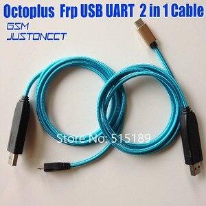 Image 4 - Новый оригинальный кабель Octoplus FRP USB UART 2 в 1, кабель (micro + type c ) EFT UART для FRP Dongle, EFT Dongle для samsung, 2020