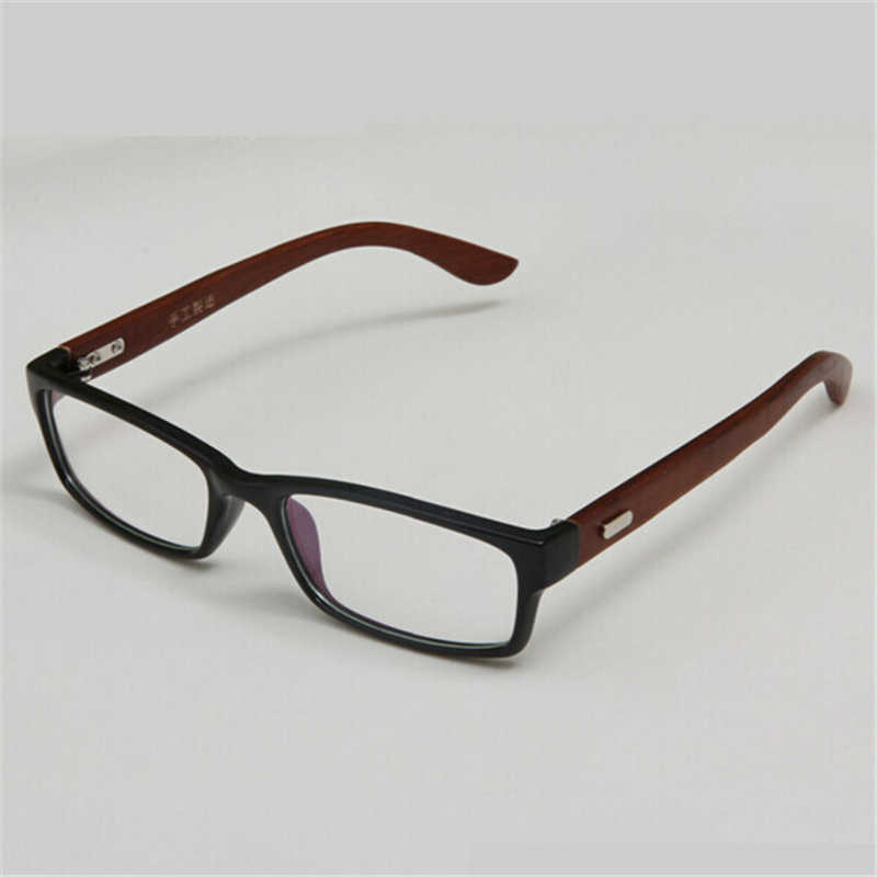 6595bc2590 ... Classical Simplicity Eyeglasses Frame High Quality Handmade Wooden  Bamboo Glasses Frames With Clear Lens For Women