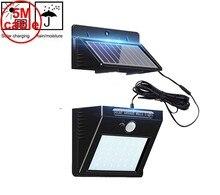 30 светодиодный 500lm солнечный свет сплит крепление PIR датчик движения режим водонепроницаемый для