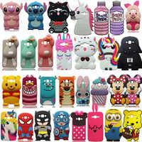 For Samsung Galaxy J1 J3 J5 J7 A5 A7 (2015)(2016) 3D Case Cartoon Soft Silicone Cover Phone Cases Fundas Coque Shockproof