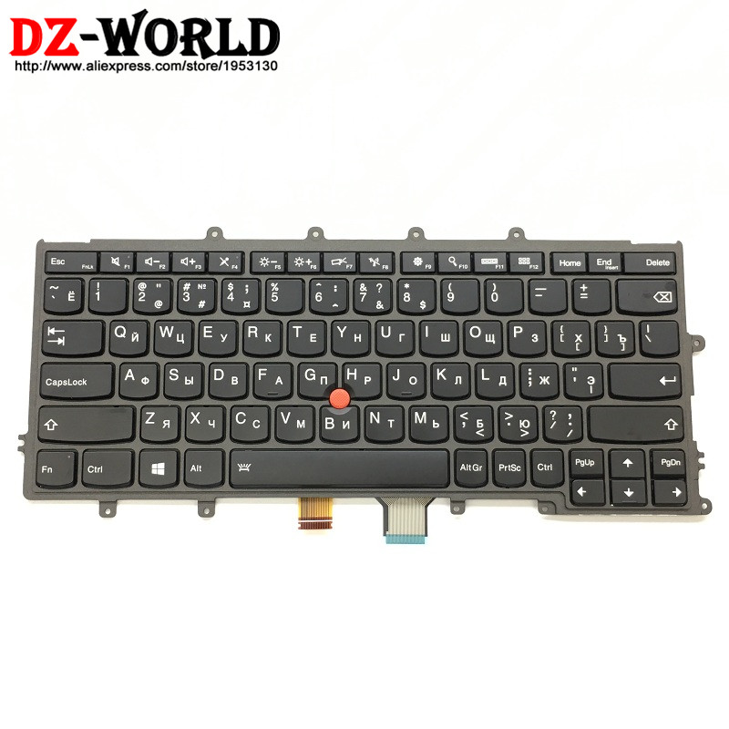 New Original for Thinkpad X230S X240 X240S X250 X260 Backlit Keyboard RU Russian Backlight Teclado 04X0200 04X0238 0C44005 russian new laptop keyboard for samsung np300v5a np305v5a 300v5a ba75 03246c ru layout