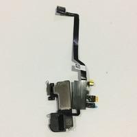 Original Front Light Sensor Flex Ribbon Cable Earpiece Ear Speaker Assembly For iPhone X Ten 10 Replacement Parts