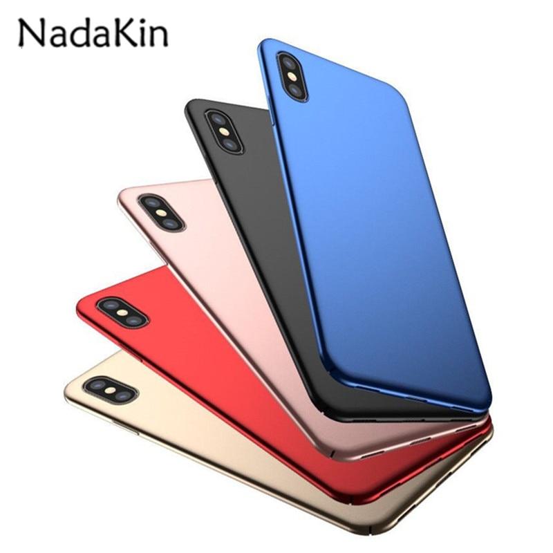 luxo-pc-case-plastico-para-iphone-5-5s-se-6-6-s-7-8-mais-x-ultra-slim-duro-fosco-escudo-tampa-traseira-capas-de-telefone-sacos