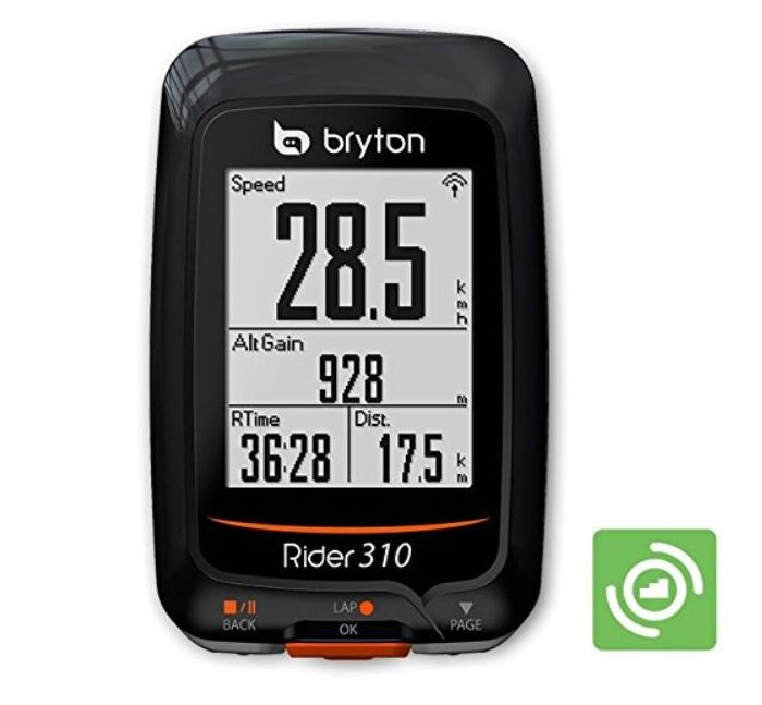Bryton Rider 310 GPS Cycling Enabled Bicycle/Bike computer mount Waterproof wireless speedometer with bicycle garmin edge mount bryton rider 530 gps bicycle bike cycling computer