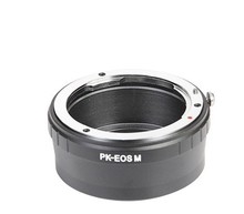 For Pentax PK Mount Lens To Canon E0S M Mount EF-M Adapter Mirrorless Camera