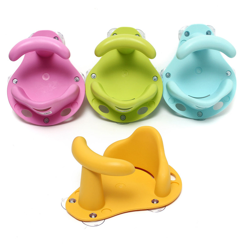 4 Colors Baby Bath Tub Ring Seat Infant