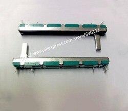 5 шт. потенциометр B10K B20K B50K, оригинальный потенциометр, смеситель fader B10K 75 мм B10KX2 B20K * 2 B50K * 2