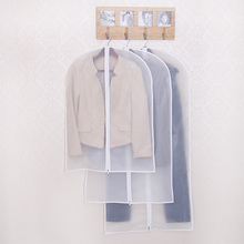 Moisture proof mildew insect  clothing dust cover home coat transparent waterproof suit storage bag