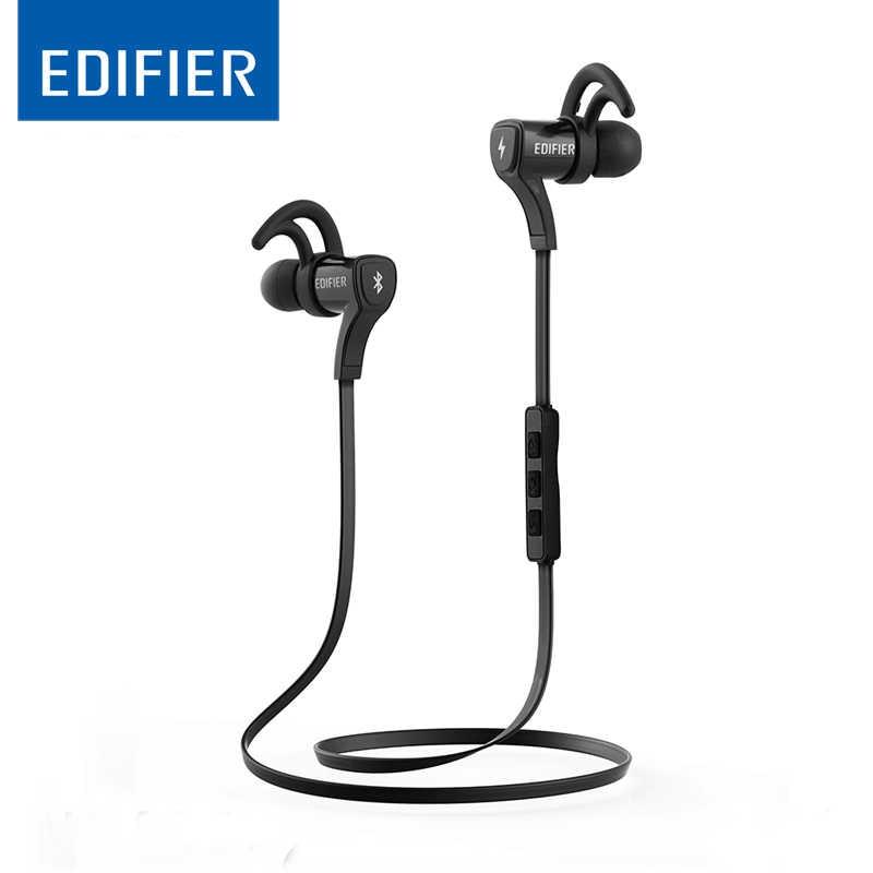 EDIFIER W288BT Bluetooth 4.0 słuchawki trening sportowy słuchawki douszne wodoodporny i pot zestaw słuchawkowy Stereo