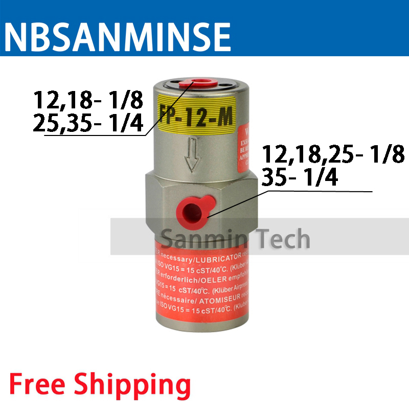 Free Shipping Pneumatic Piston Vibrators FP - M Amplitude Adjustable Air Operated Vibrator FP - M Series Sanmin стоимость