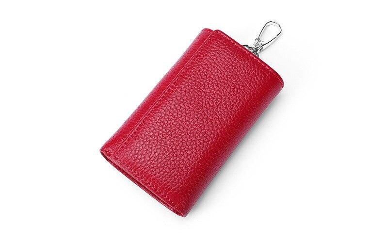 HuaPin sac à main en peau de vache ceinture à la mode pour hommes et femmes, sac à main de poche
