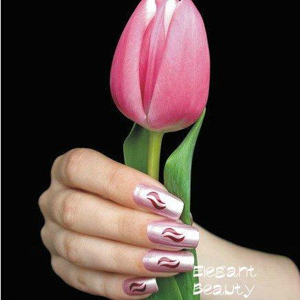 48 стилей 3d Дизайн ногтей Французский совет выдалбливают печати модель наклейки для ногтей 1000 пакетов/Лот EMS /DHL