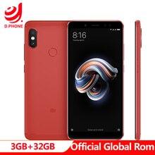 "Official Global ROM Xiaomi Redmi หมายเหตุ 5 3GB RAM 32GB ROM Snapdragon 636 OCTA Core MIUI9 5.99"" full หน้าจอ 4G TD LTE สมาร์ทโฟน"