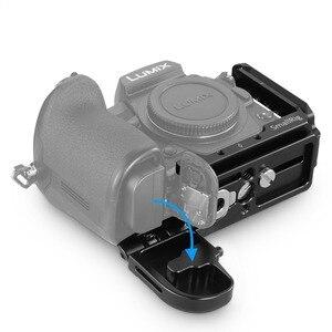 Image 4 - SmallRig G9 L סוגר עבור Panasonic Lumix G9 מצלמה L צלחת שחרור מהיר חצובה Monopods לצרף 2191