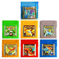Nintendo GameBoyColor Video Game Cartridge Console Card Pokemons Collective Edition English Language Version