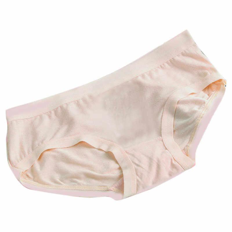 2019 ブリーフ女性の快適なセクシーなシームレスなパンティー大サイズ純粋な綿レディースセクシーな多色青年女性下着ホット