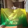 Новые горячие 98 '' x 45 '' размер чистого природный натурального шелка покрывал для танца живота или сценическое 100% шелка завеса