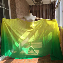"New Hot 98""x 45"" size pure natural real silk Veils for bellydance or stage performance 100% real silk Veil"