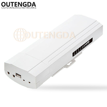 OUTENGDA 3KM 2.4GHz Wireless Outdoor CPE Bridge 150Mbps AP Router Access Point 1000mW WIFI Repeater Extender Support WDS & PoE