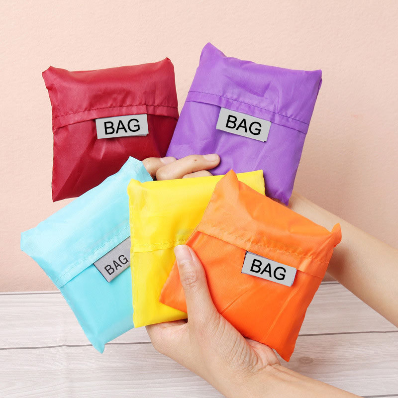 ETya New Fashion Waterproof Shopping Bag Portable Folding Creative Reusable Foldable Shopping Bag Eco Tote Market Grocery Bag