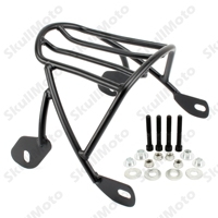 Black Solo Seat Luggage Rear Fender Rack For Harley Sportster XL 883 1200 2004 2008 2009 2010 2011 2016