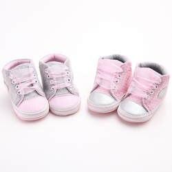 Девушка бантом Обувь для младенцев Кроссовки противоскользящие мягкая подошва toddlerbaby Мокасины Bebek ayakkabi l10192