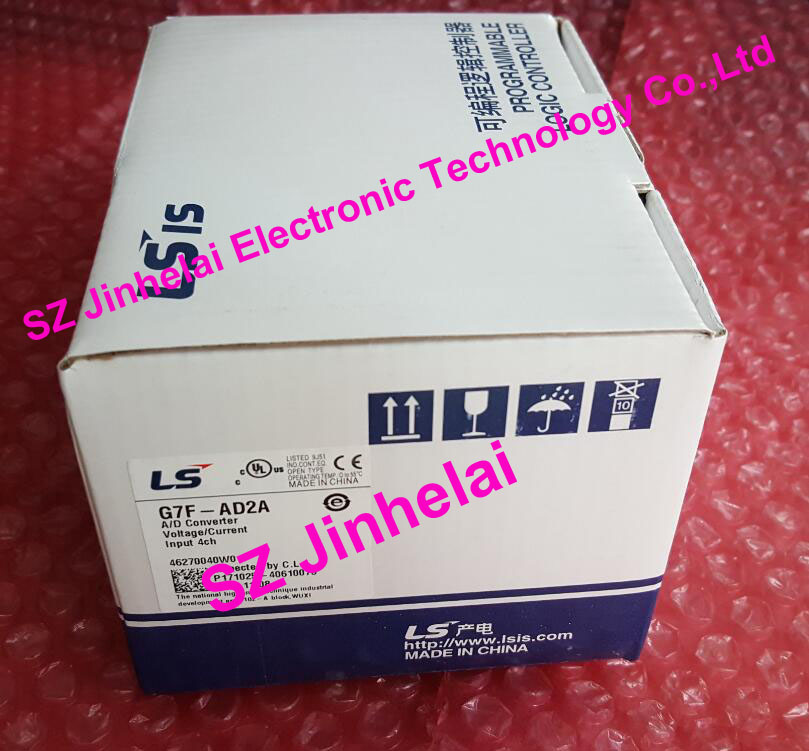 100% New and original  G7F-AD2A  LS(LG)  PLC controller литой диск replica ls ty2 7 5x17 6x139 7 d106 2 et25 gmf