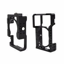 Алюминиевый сплав Камера Cage Защитная Камера рамка для Sony A6500 ILDC Камера видео Камера клетка установить штатив легкий