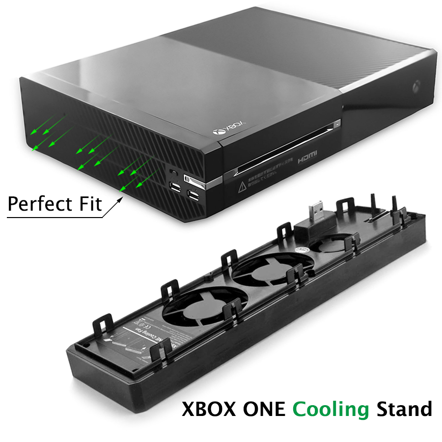 Fan Vertical Stand Cooling Fan and 4 Ports USB Hub for Game Equipment Accessory Radiator Mini Portable Cooling Fan
