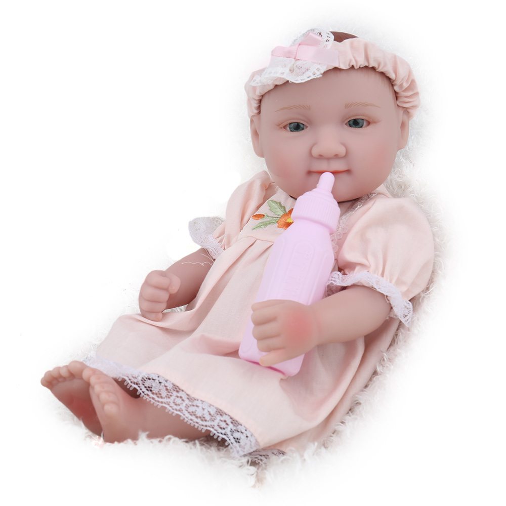 Dolls & Stuffed Toys Collection Here Soft Silicone Doll Reborn 55cm Blue Eyes Realistic Playmate Babies Boy Doll For Children Toys Best Christmas Gift Stuffed Doll Customers First Toys & Hobbies