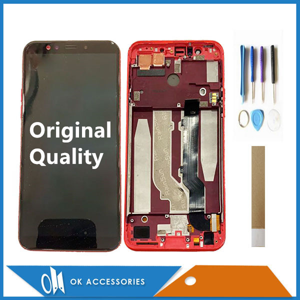 6.01 For General Mobile GM 9 Pro GM9 Pro GM9Pro LCD Display With Touch Sensor Digiziter Assembly With Frame With Tools Tape