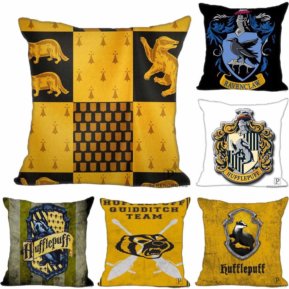 Custom Decorative Pillowcase Harry Potter Ravenclaw Square Zippered Pillow Cover (One Side)180516-76