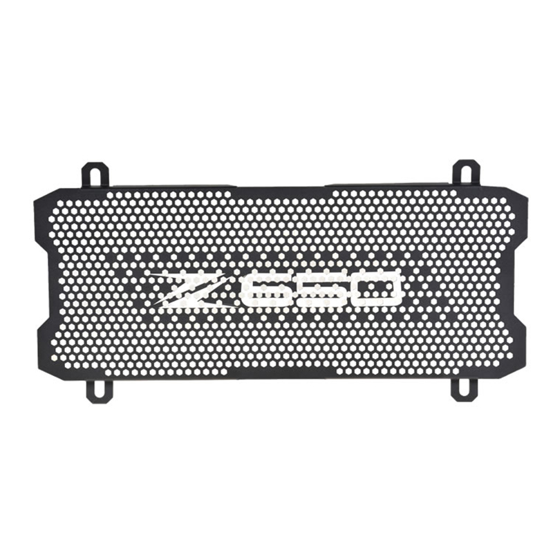 Z650 Motorcycle Accessories Radiator Grille Guard Cover Aluminum alloy   Radiator Protector For Kawasaki Z650 z 650 2017Z650 Motorcycle Accessories Radiator Grille Guard Cover Aluminum alloy   Radiator Protector For Kawasaki Z650 z 650 2017
