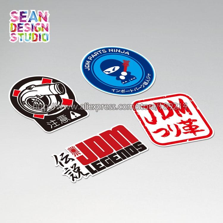 Honda Racing Decal Jdm Racing Motocross Window Sticker