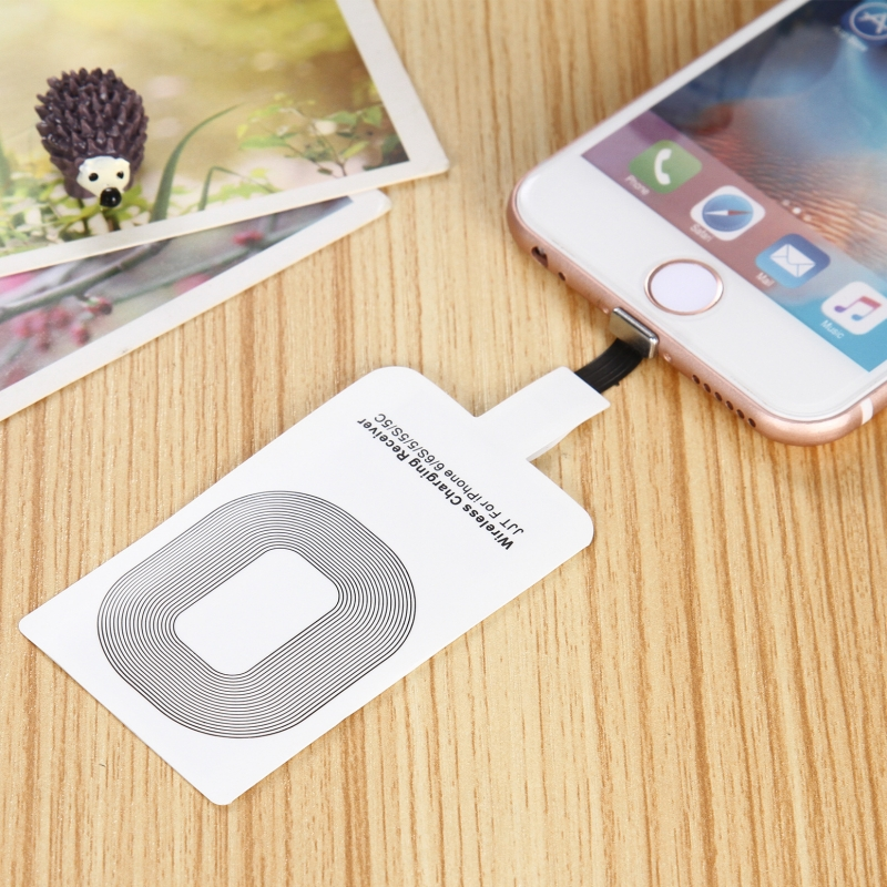 High Quality Fast Speed Qi Standard Wireless Charger Adapter Receptor Charging Pad Receiver