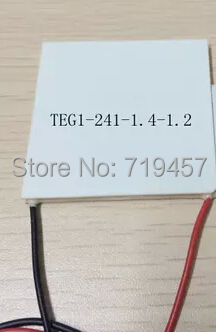 FREE SHIPPING 2PCS/LOT TEG1-241-1.4-1.2 Thermoelectric Power Generation Peltier ModuleFREE SHIPPING 2PCS/LOT TEG1-241-1.4-1.2 Thermoelectric Power Generation Peltier Module