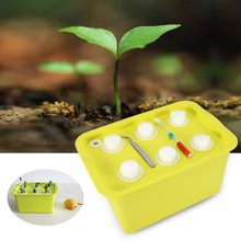 6 Holes Plant Site Hydroponic System Grow Kit Bubble Indoor Outdoor Garden Cabinet Box Gardening Hydroponic Grow Box(China)