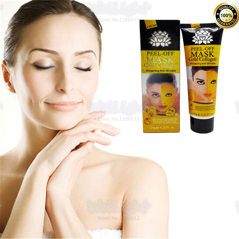 Treatments & Masks Skin Care Just Real 24k Gold Collagen Facial Mask Exclusive Sales On Aliexpress Deep Moisturizing Anti-aging Face Mask For Beauty Skin Care Hot