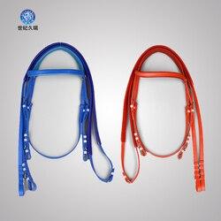 الفروسية الحصان أواني PVC المياه مقاليد سرعة المياه الفروسية الفروسية مع الأحمر الأزرق