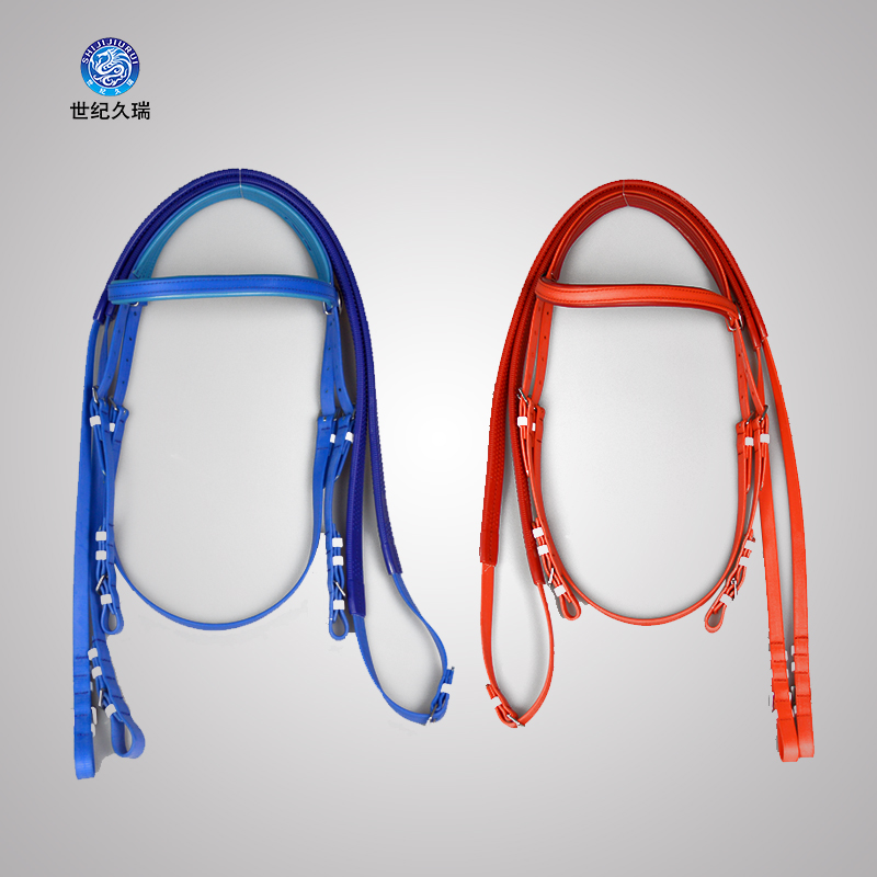 Equestrian Horse Utensils PVC Water Reins Speed Water Equestrian Equestrian With Red Blue