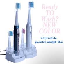 فرشاة أسنان كهربائية بالموجات الصوتية 1 مجموعة 8 فرشاة إضافية Litpack نظافة الفم STBR N001 قابلة للشحن فرشاة أسنان سونيك مقاوم للماء
