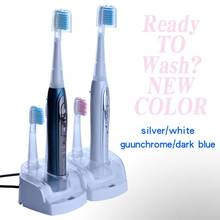 Sonic חשמלי מברשת שיניים 1 סט 8 נוסף brushhead Litpack אוראלי היגיינה STBR N001 נטענת עמיד למים sonic מברשת שיניים