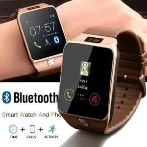 Image 4 - New Smartwatch Intelligent Digital Sport Gold Smart Watch DZ09 Pedometer For Phone Android Wrist Watch Men Womens satti Watch