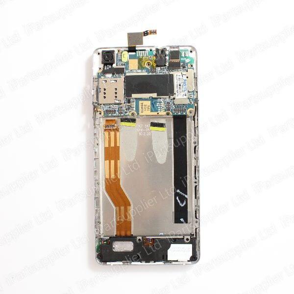 Écran LCD CUBOT X16S + numériseur d'écran tactile + cadre avec assemblage de carte mère 100% Original LCD + numériseur tactile pour CUBOT X16S - 4